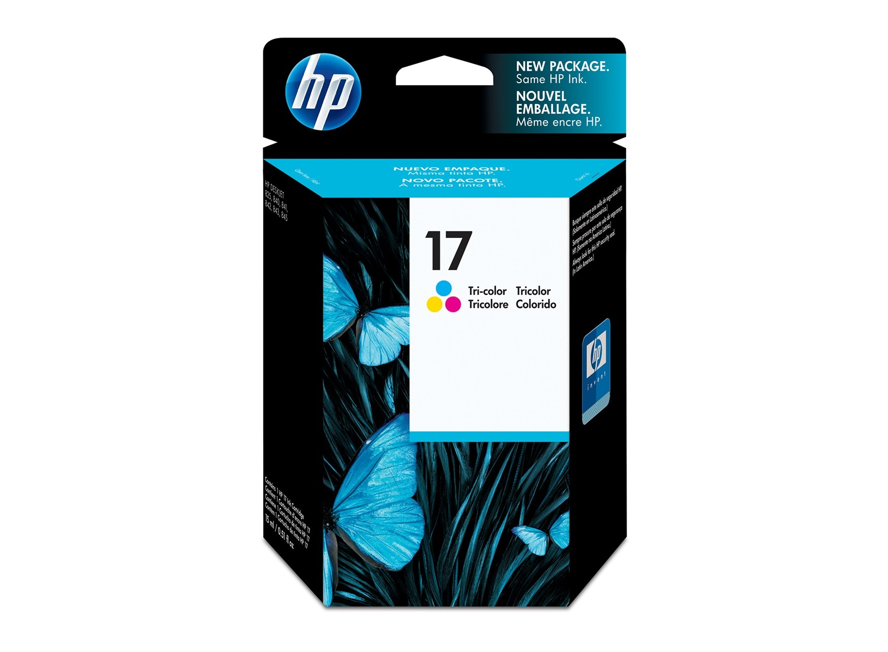 HP 17 Tri color Ink Cartridge