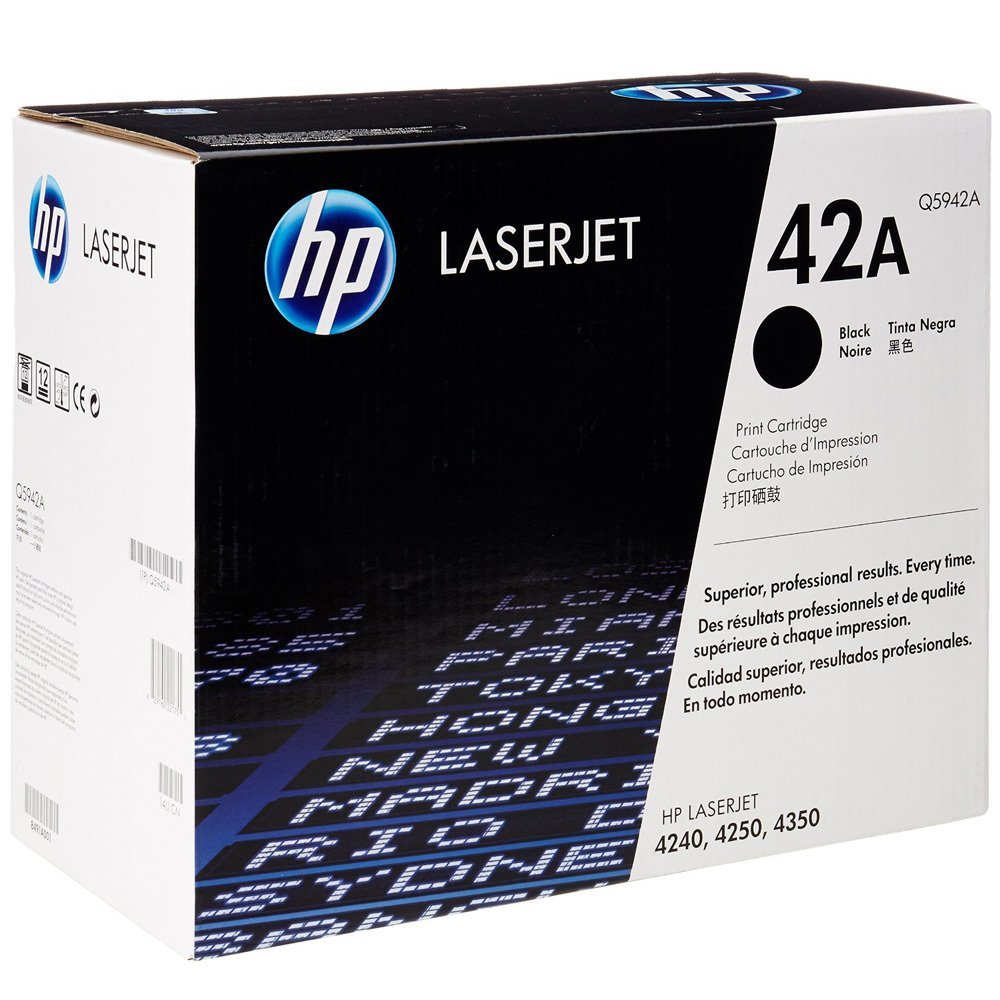 HP 42A Black LaserJet Cartridge