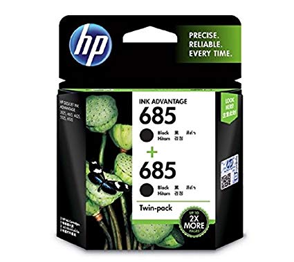 HP 680 Black Ink Cartridge ( 2 pack)