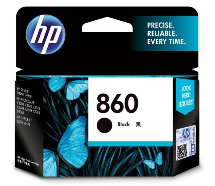 HP 860 Black Ink Cartridge