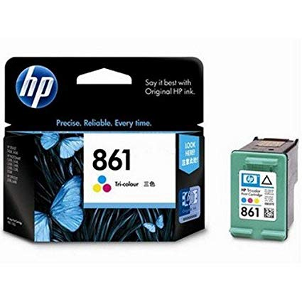 HP 861 Tri color Ink Cartridge