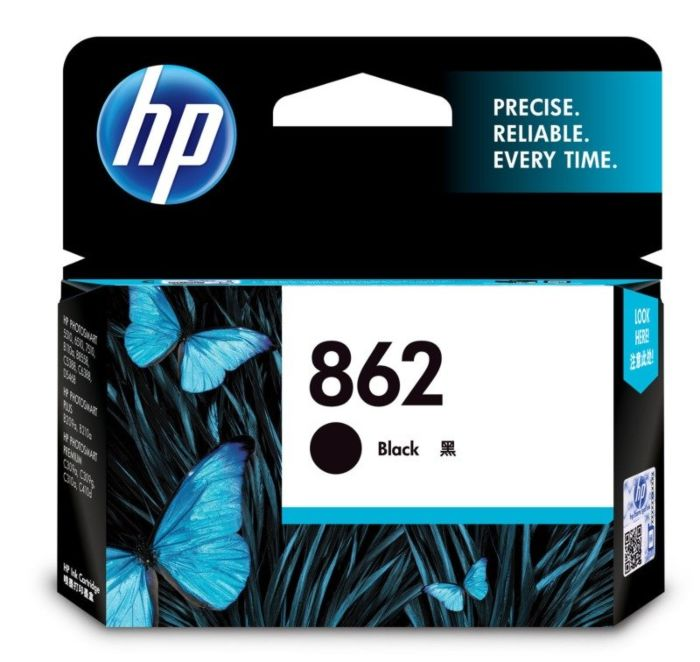 HP 862 XL Black Ink Cratridge