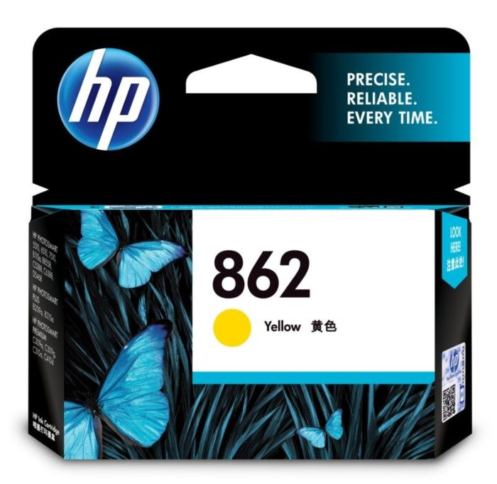 HP 862 Yellow Ink Cartridge