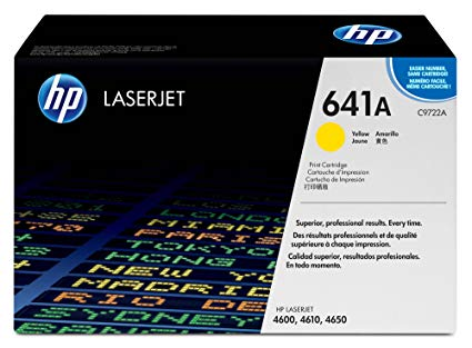 HP 9722A (641A) Yellow Toner Cartridge