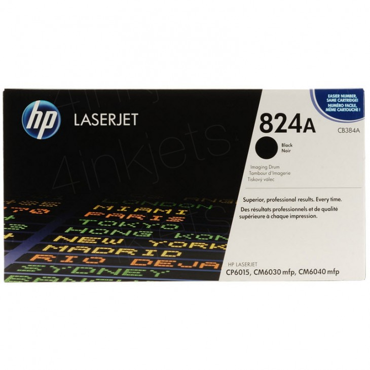 HP CB390A (824A) Black Toner Cartridge