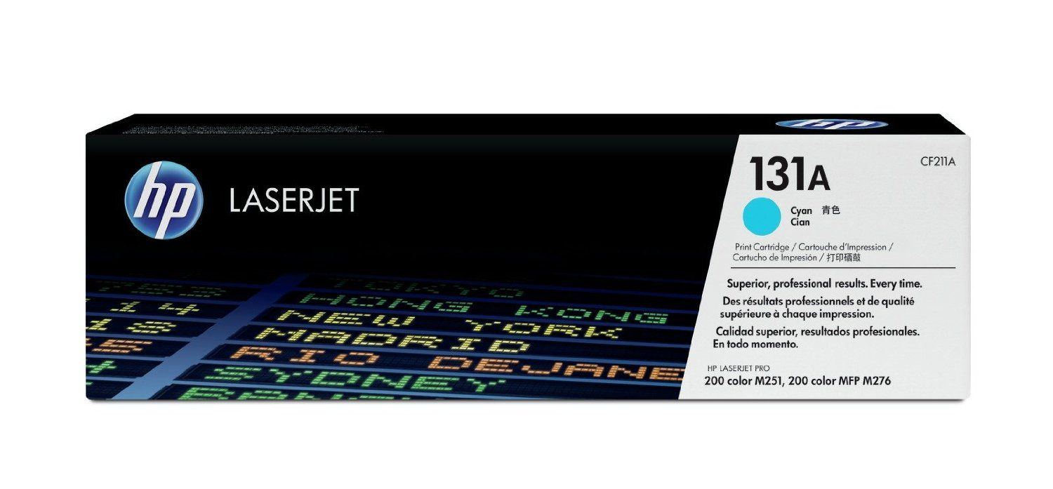 HP CF211A (131A) Cyan Toner Cartridge