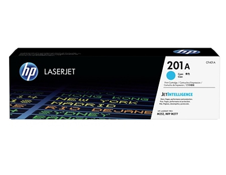 HP CF401A (201a) LaserJet Cyan Toner Cartridge