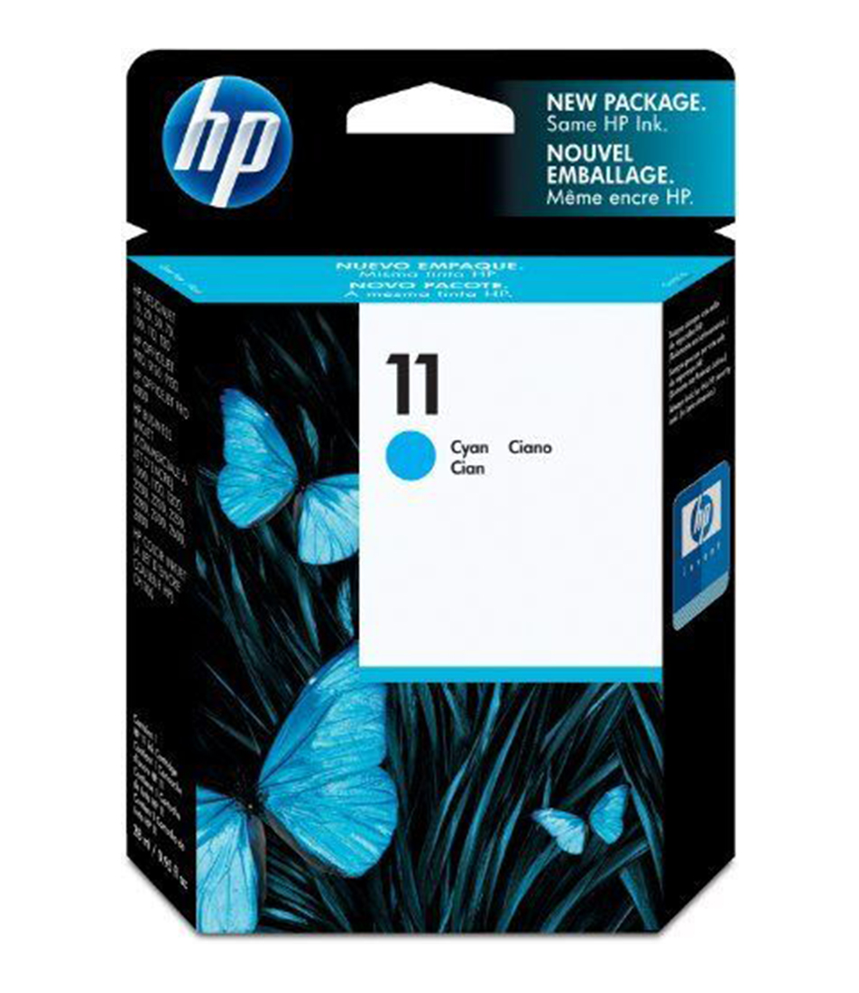 HP No 11 Cyan Ink Cartridge