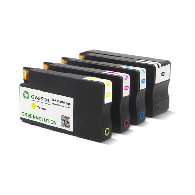 GV Premium Remanufactured cartridge for HP 951XL Yellow Ink Cartridge